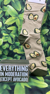 Everything Avocado Sign & Sock Set