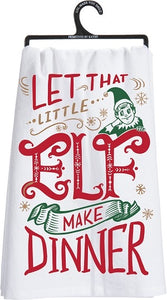 Little Elf Tea Towel