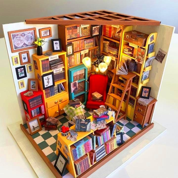 DIY Miniature Library  ✨ HOT SALE! ENDING TODAY!