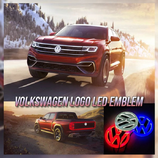 Volkswagen Logo LED Emblem 🔥 LAST DAY PROMOTION! 🔥 Get Yours 50% OFF!