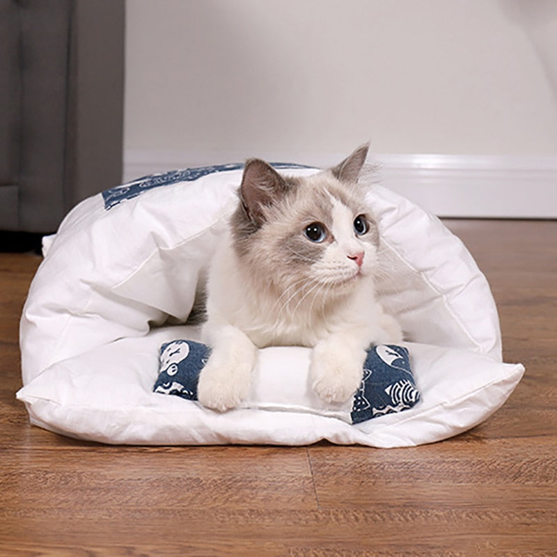 ✨Limited Time Sale!✨ Japanese-Style Pet Sleeping Bag