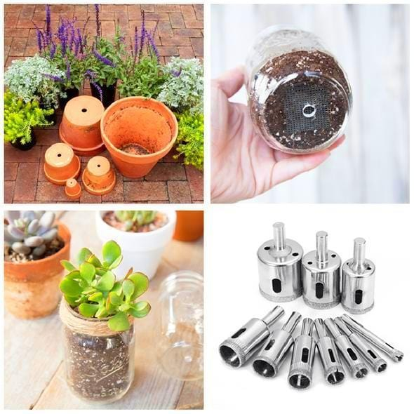 50% OFF - Ceramic Flower Pot Hole Drilling Bit Set (10 Pcs)