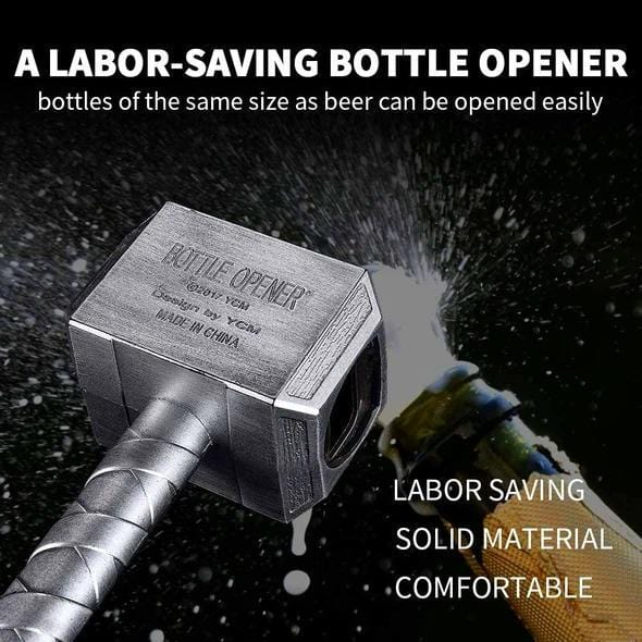 Miracle Thor Hammer Beer Bottle Opener 🔥 50% OFF LAST CHANCE 🔥