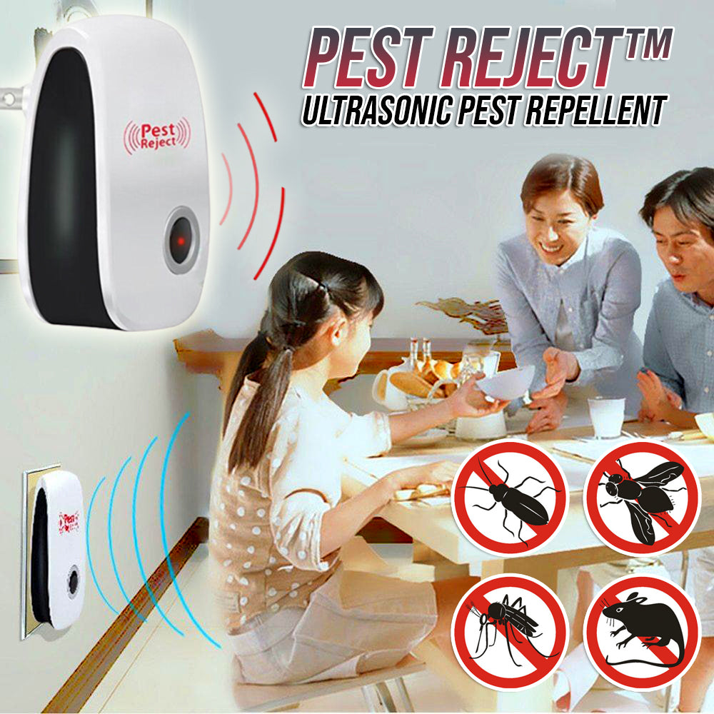 Pest Reject™ Ultrasonic Pest Repellent 🔥 50% OFF LIMITED TIME! 🔥