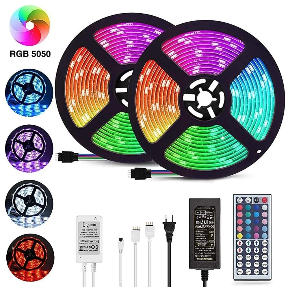 LED Magic™ - Remote Control RGB Light Strips (BACK TO $39.99 IN 24 Hours)