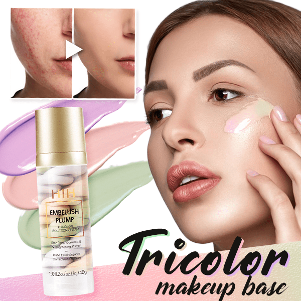 Rainbow Tricolor Makeup Base - Up To 75% OFF SALE NOW!