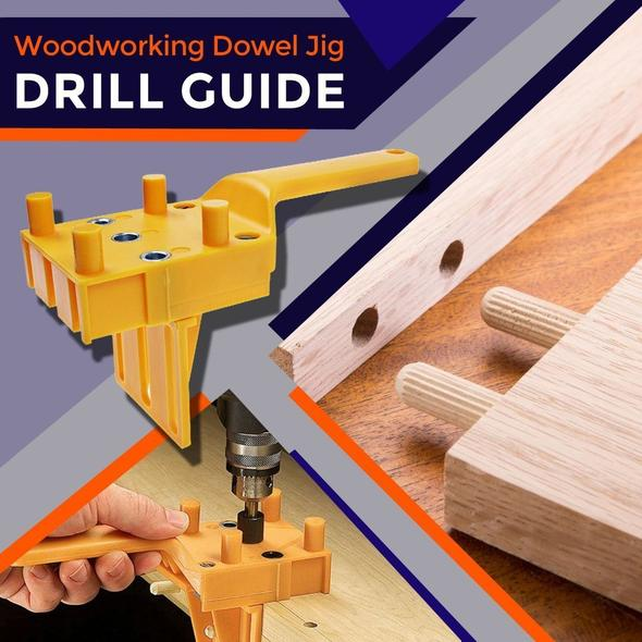 DrillPro™ Wood Doweling Hole Drill Guide Tool 🔥 Selling Extremely Fast 🔥