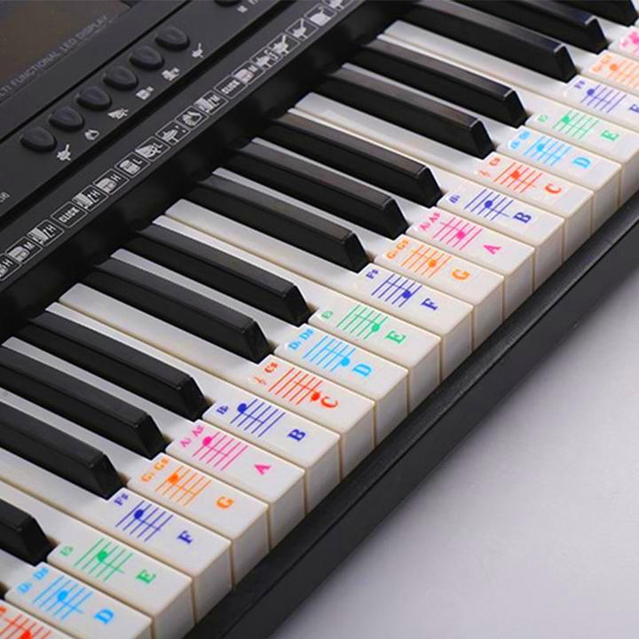 Removable Piano Key Stickers ✨ LAST DAY PROMOTION! ✨