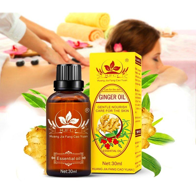 Lymphatic Drainage Ginger Oil - Promo Sale Ends Soon!