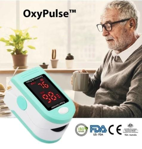 OxyPulse™ - Easily Monitor Health & Oxygen Levels In Seconds