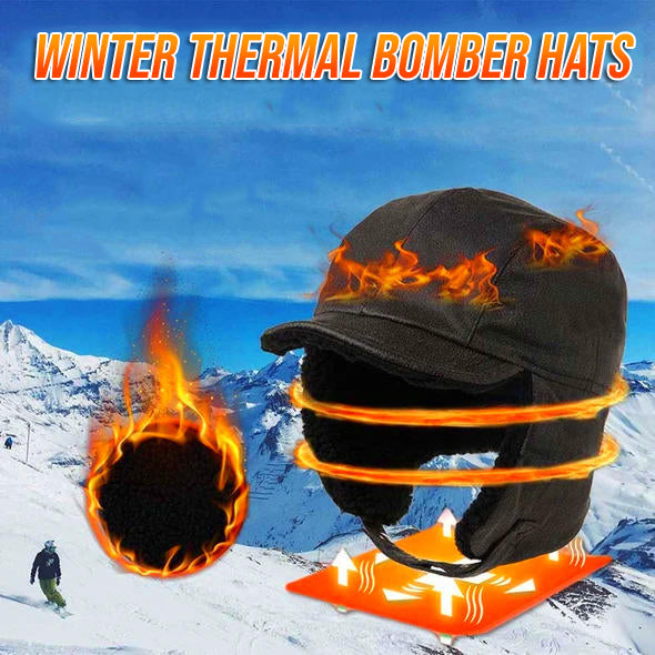Winter Thermal Bomber Hats ✨ BUY 1 TAKE 1 FREE ✨ Special Promotion