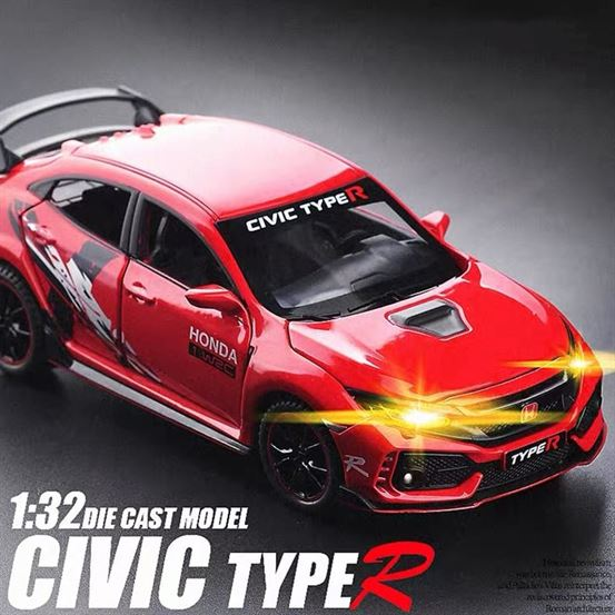 MiniAuto™ 1:32 Honda Civic Type R Diecasts (Limited Edition)