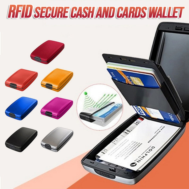 RFID Secure Cash and Cards Wallet 🔥 SALE IS ENDING VERY SOON! 🔥