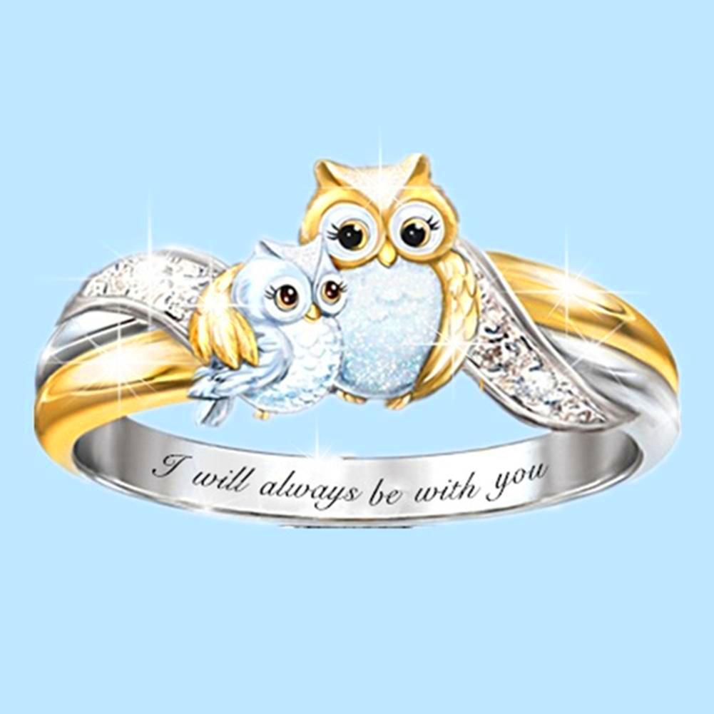 Cute Owl Crystal Ring 🔥 Selling Extremely Fast