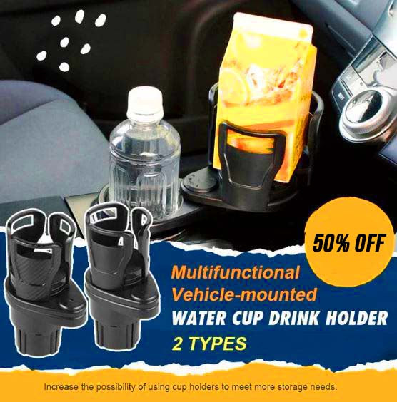 Multi-Functional Vehicle-Mounted Water Cup Drink Holder