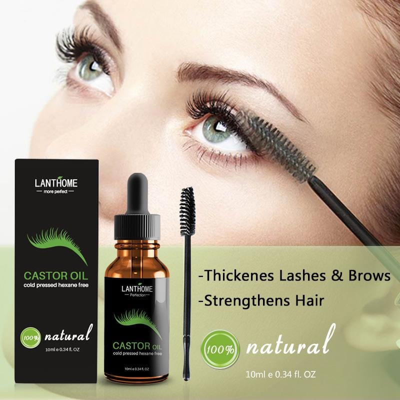 Castor Oil Eyelash / Hair Growth Serum