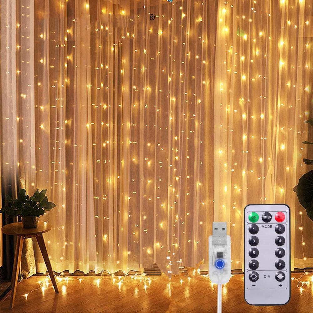 2020 New Smart Led Curtain String Lights ✨ Limited Time Sale! ✨