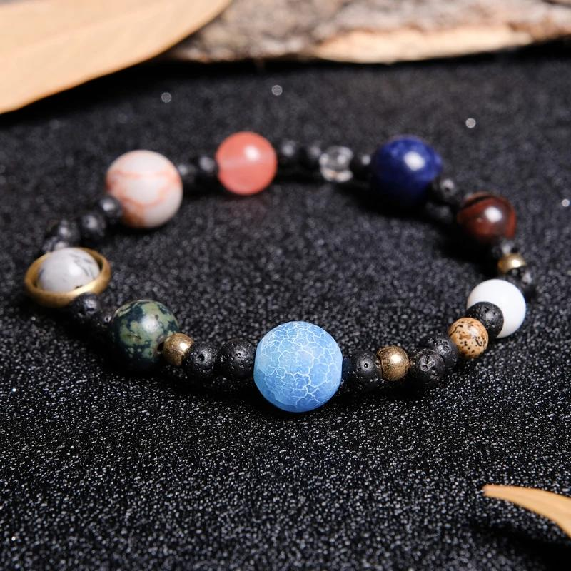 9-Planet Solar System Beaded Bracelet ✨ HOT SALE 50% OFF TODAY!