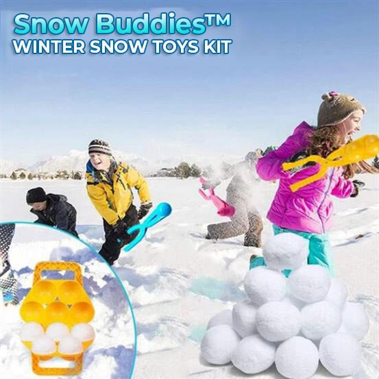 Snow Buddies™ Winter Snow Toys Kit ✨ Limited Time Sale! ✨