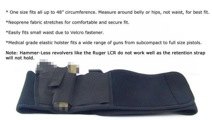 Tactical Belly Band Holster (50% OFF TODAY!)