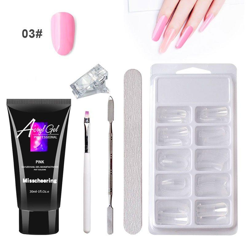 Poly Gel Nail Extension Kit ✨ HOT SALE 50% OFF TODAY! ✨