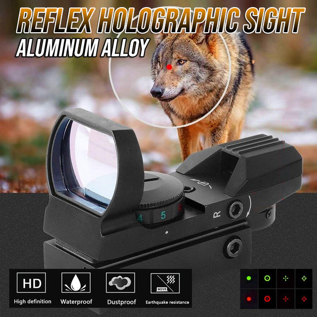Reflex Holographic Sight (Full Metal) 🔥 LAST DAY PROMOTION! 🔥 Get Yours 50% OFF!