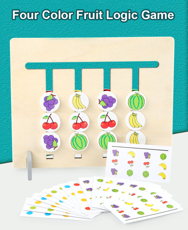 Four Color Fruit Logic Game 🔥 Selling Extremely Fast