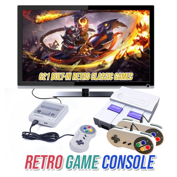 Retro Game Console 🔥 SALE IS ENDING SOON!