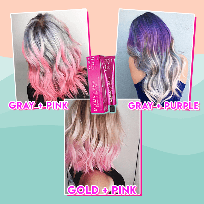 Mermaid Hair Coloring Shampoo - 50% OFF TODAY ONLY!