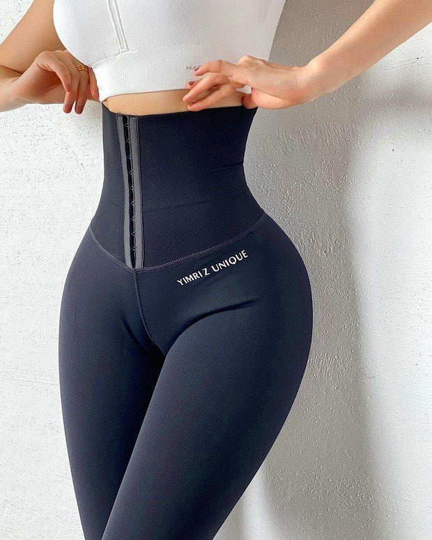 Sexy High Waist Fitness Corset Leggings ✨ HOT SALE 50% OFF TODAY! ✨