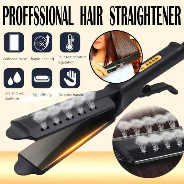 Ceramic Tourmaline Ionic Flat Iron Hair - LAST DAY PROMOTION!