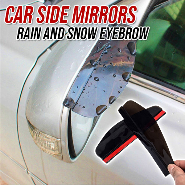 Car Side Mirrors Rain and Snow Eyebrow 🔥 SALE IS ENDING VERY SOON! 🔥