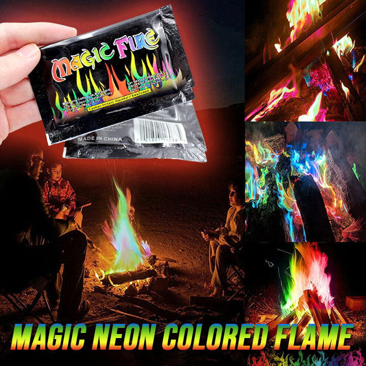Magic Neon Colored Flame  🔥 BUY 1 GET 2 FREE 🔥 Special Promotion