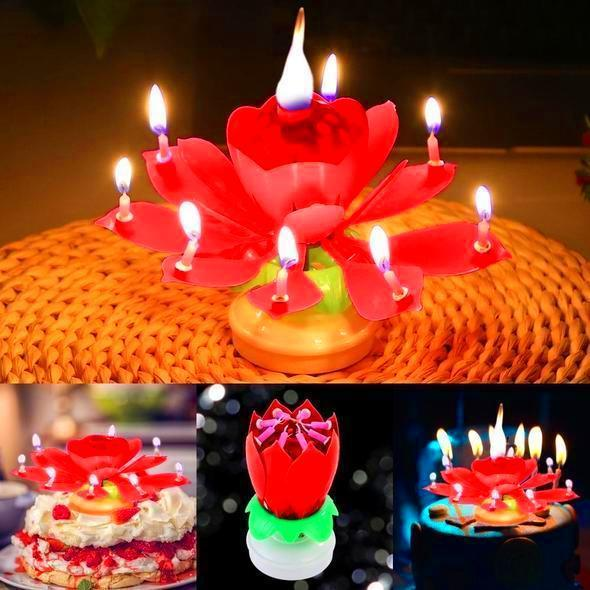 Magic Flower Birthday Candle 🔥 STOCKS RUN OUT FAST! 🔥