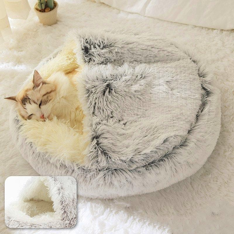 Pet Furry Sleeping Bed 🔥 50% OFF TODAY ONLY! 🔥