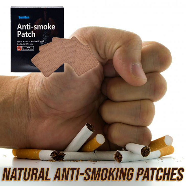 Natural Anti-Smoking Patches (Box of 35 Pcs) ⚠️ STOCKS RUN OUT FAST! ⚠️