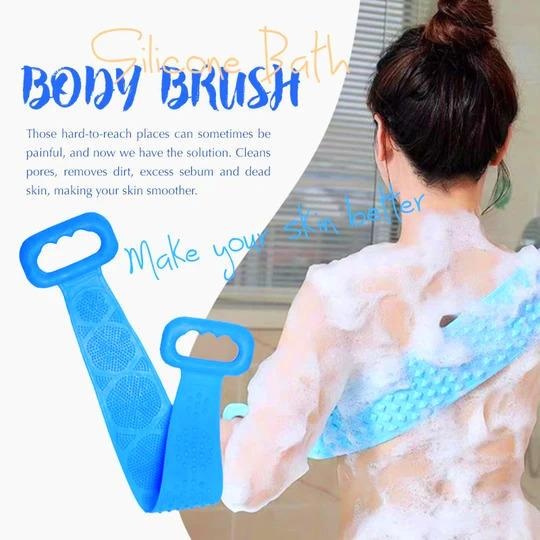 Silicone Bath Body Brush - LAST DAY PROMOTION!