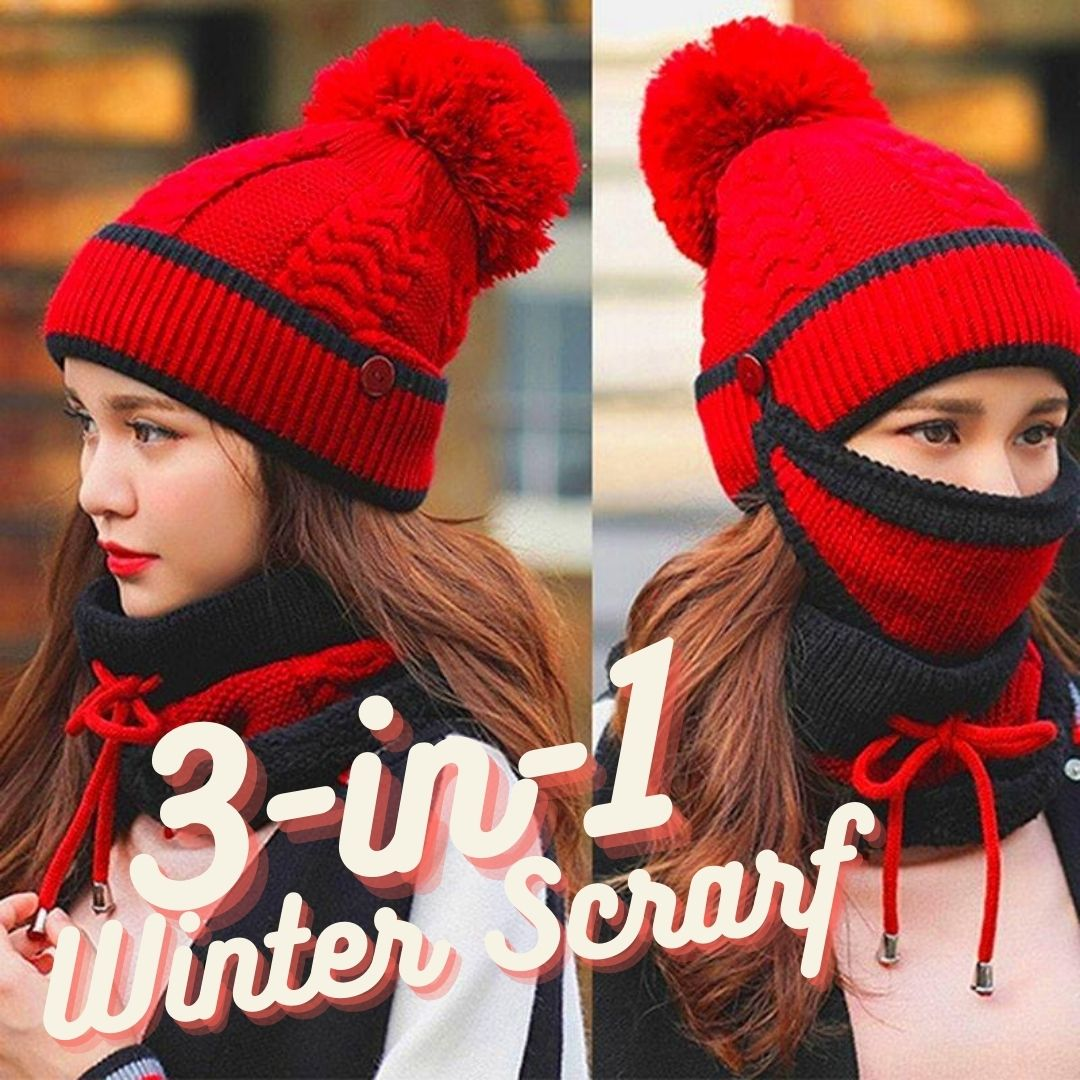 Women's Winter Scarf Set of 3  ✨ HOT SALE! 50% OFF TODAY ONLY!  ✨