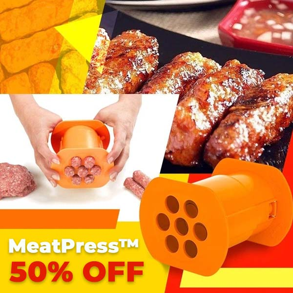 MeatPress™ 2021 Meat Strip Squeezer ✨  Limited Time Sale! ✨
