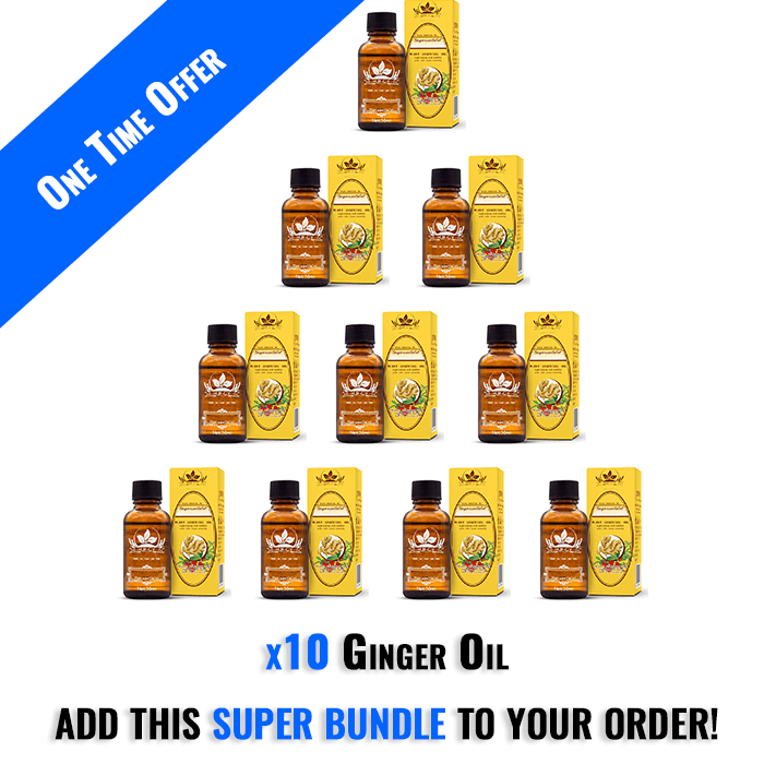 10 Ginger Oils - One Time Offer