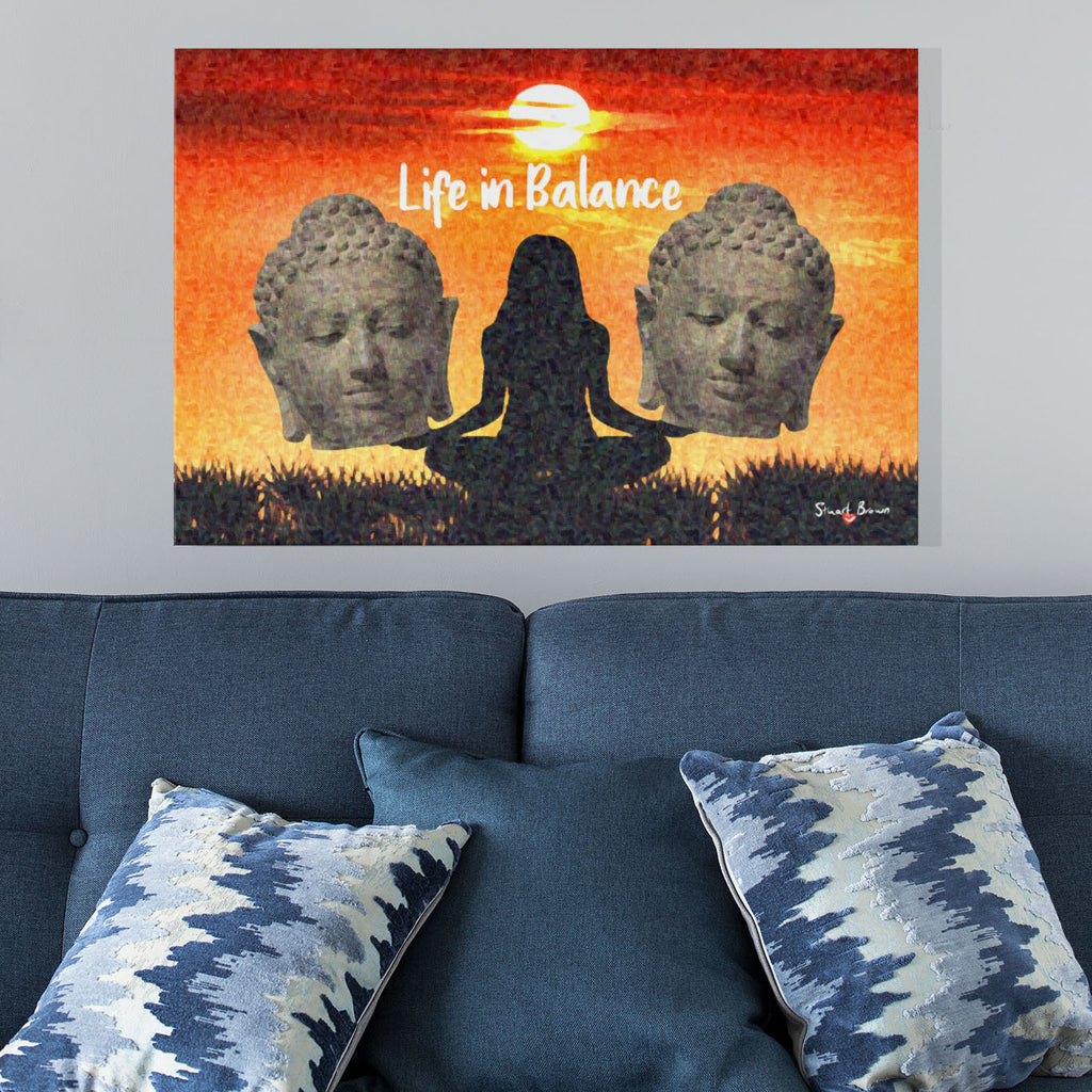 buddhism wall art