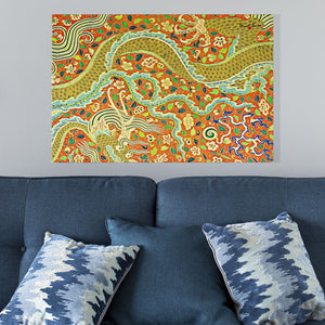 dragon canvas art