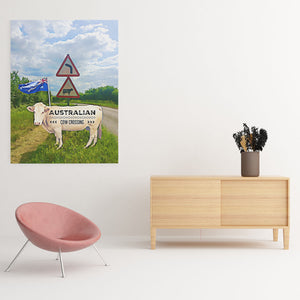funny cow art
