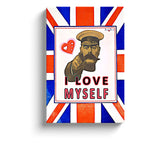 i love myself lord kitchener recruitment canvas print