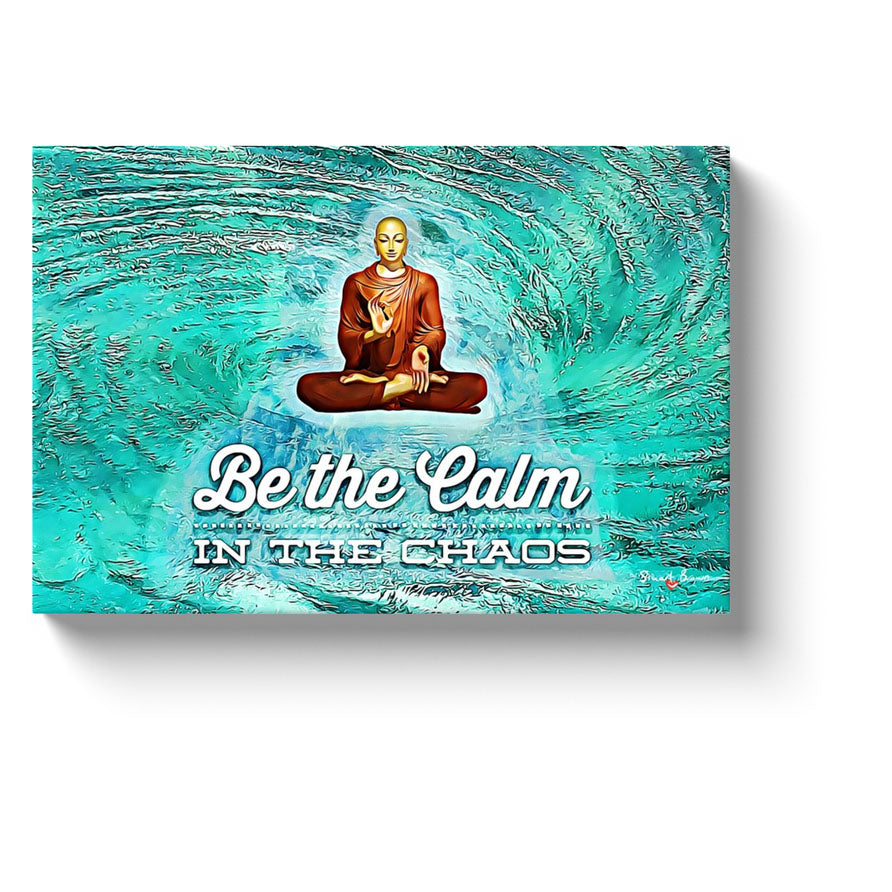 manifesting meditation maelstrom be the calm in the chaos canvas art print