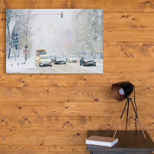 winter canvas art