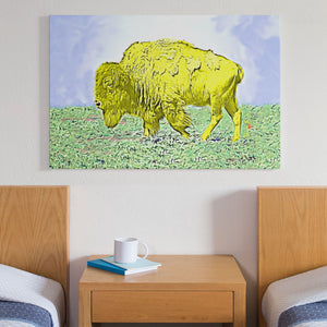 yellow bison home decor