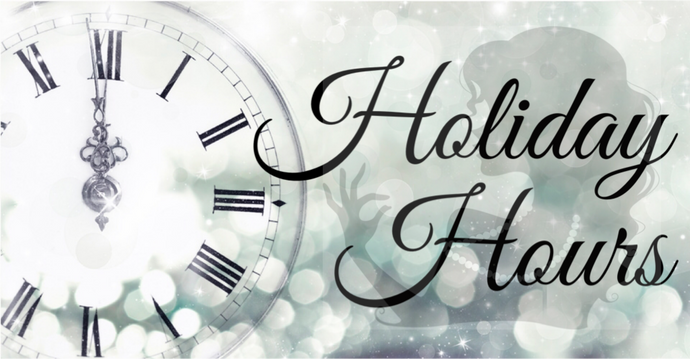 Holiday Hours and Calendar of Events
