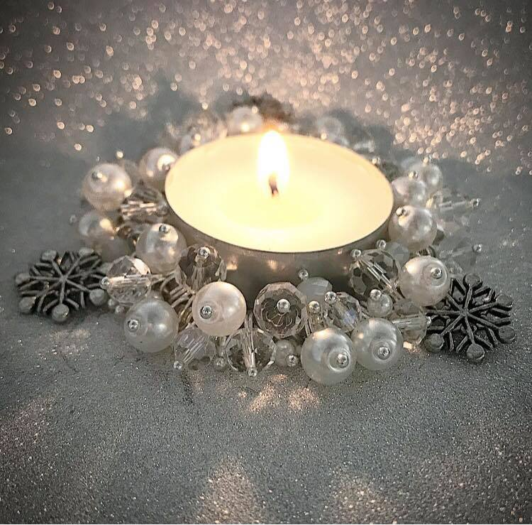 CANDLE KIT, Crisp white snow