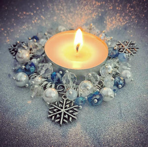 CANDLE KIT, WINTER BLUE